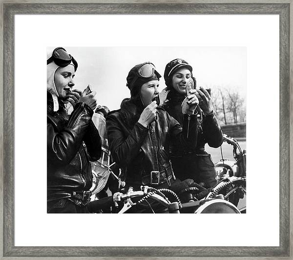 In Queens To 1960 Framed Print