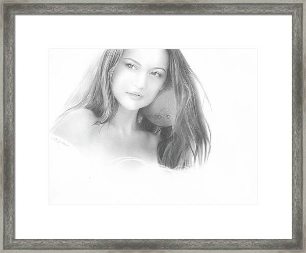 In The Clouds No. 2 Framed Print