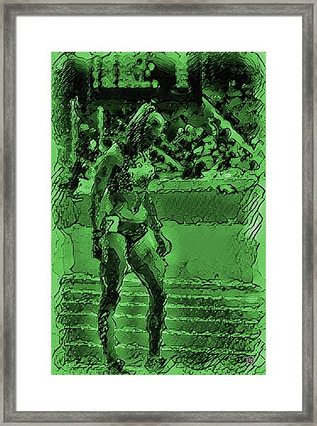 In The Green Zone Framed Print