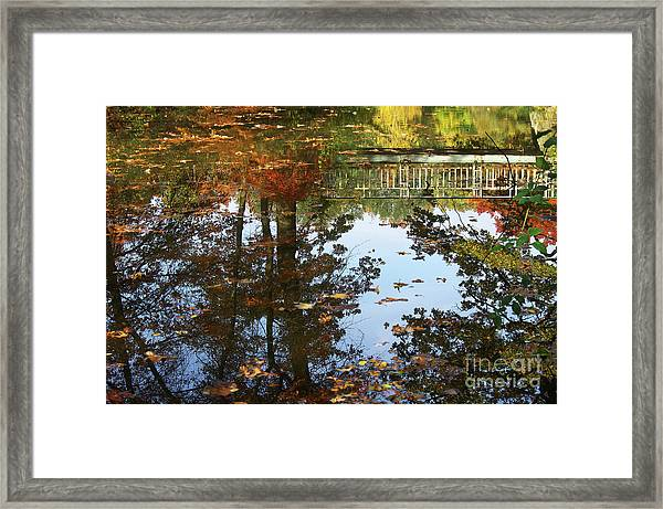 In The Mirror Framed Print