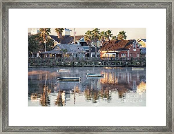 In The Stillness Of The Morn Fine Art Photography By Mary Lou Chmura Framed Print