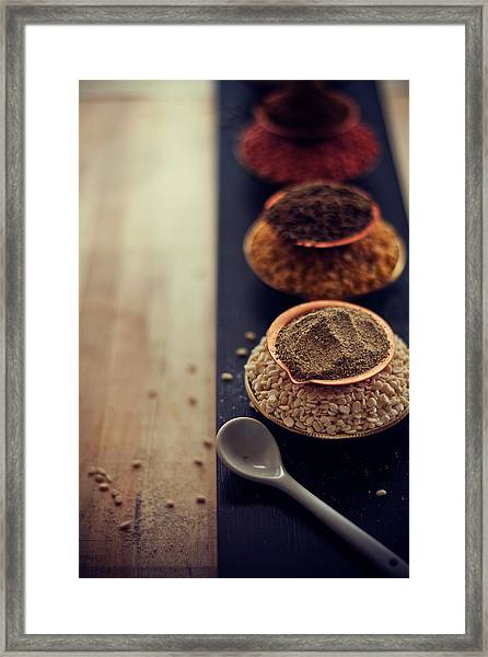 Indian Spice Framed Print