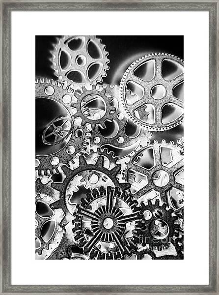 Industry Iron Framed Print