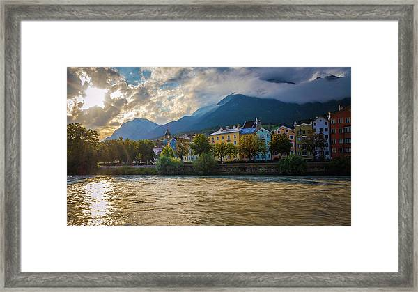 Inn River Framed Print