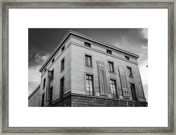 Instituto Cervantes, Munich Framed Print