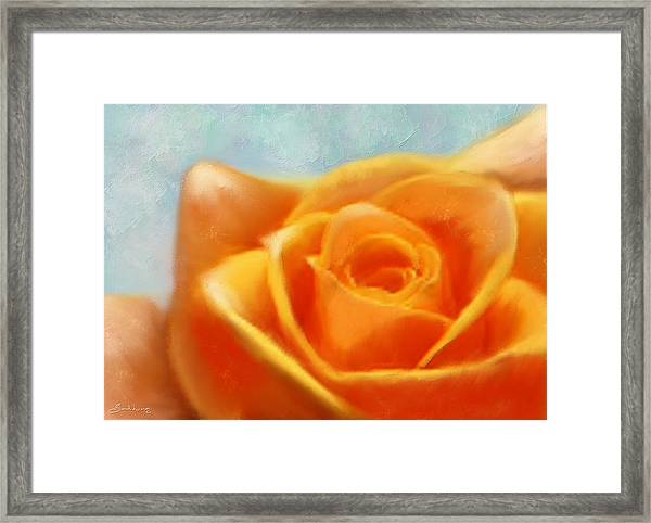 Intense Desire Framed Print