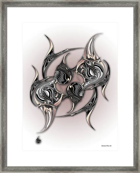 Interfering Reality Desire Framed Print