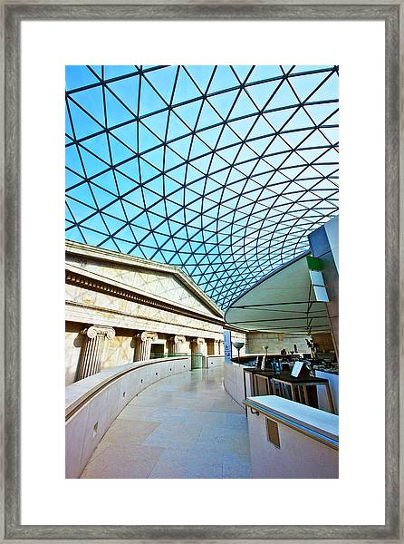 Interior Of The Great Court, British Framed Print