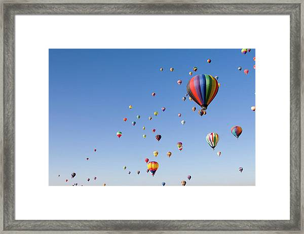 International Balloon Fiesta Framed Print