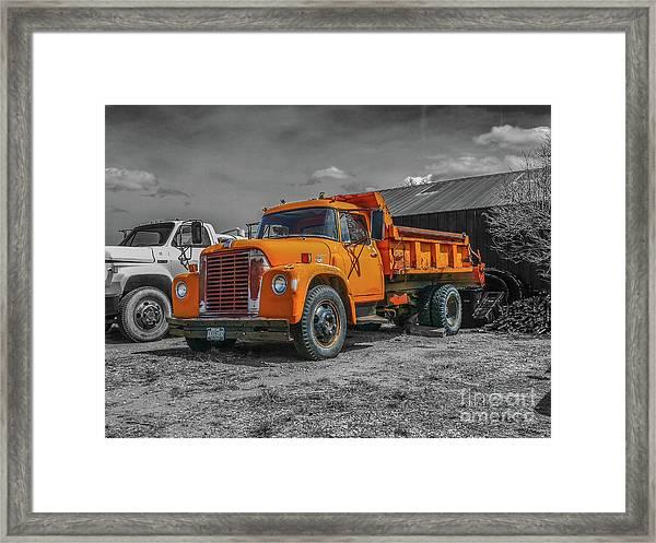 International Loadstar 1600 Framed Print
