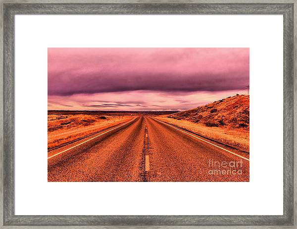 Into Nothingness  Framed Print