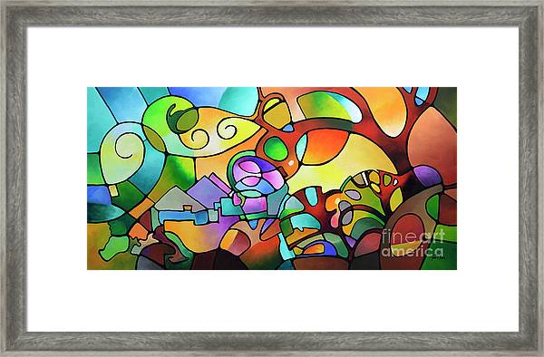 Into The Day Framed Print