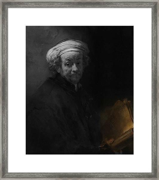 Inv Blend 22 Rembrandt Framed Print