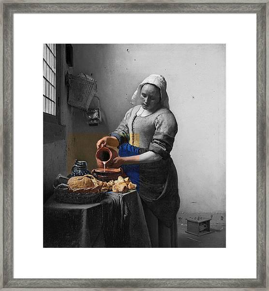 Inv Blend 8 Monet Framed Print