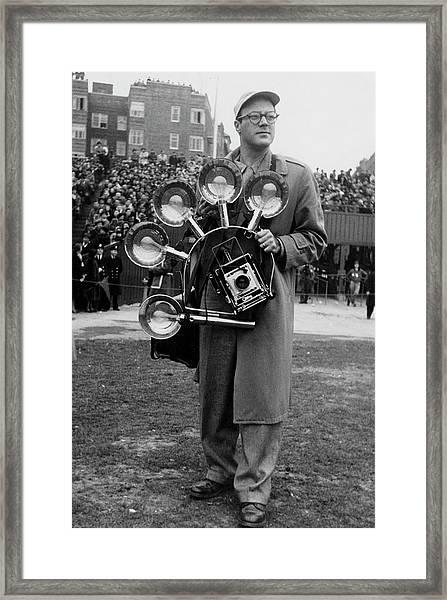 Inventive Photographer Framed Print