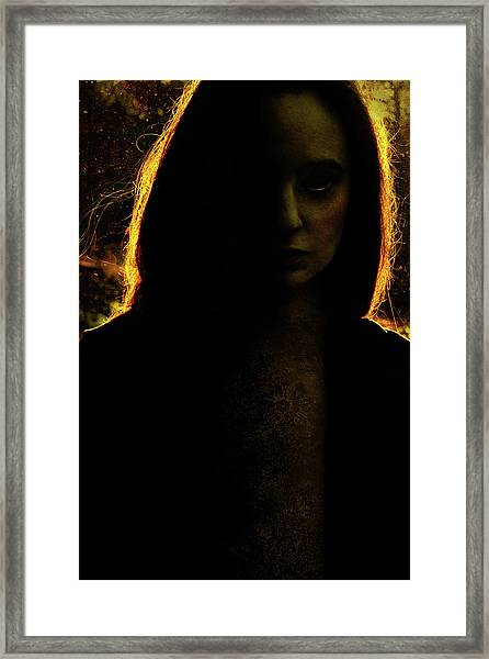 Ira Solis Framed Print by Cambion Art