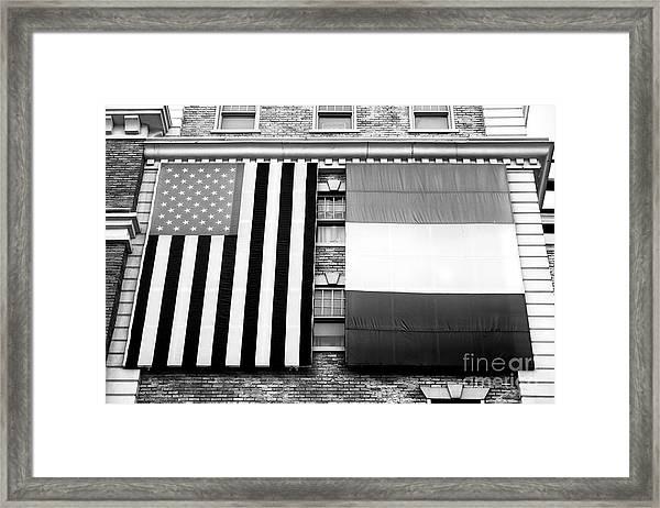 Irish American In Las Vegas Framed Print