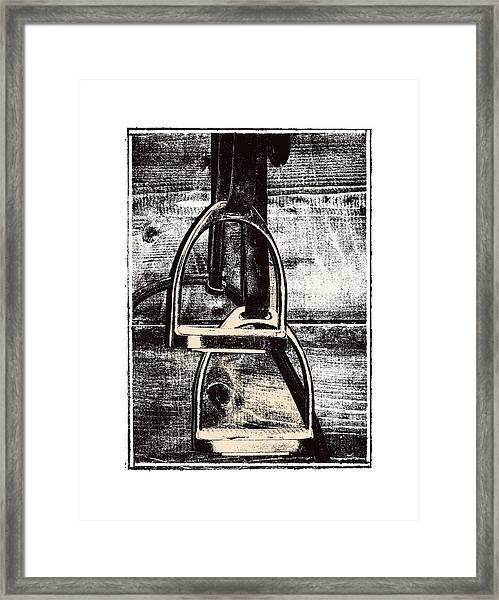 Irons Tack Framed Print