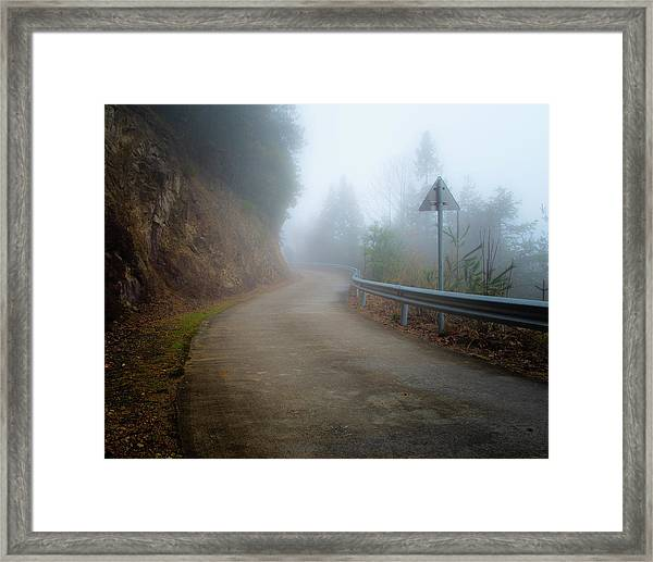 Is Anyone Coming? Framed Print