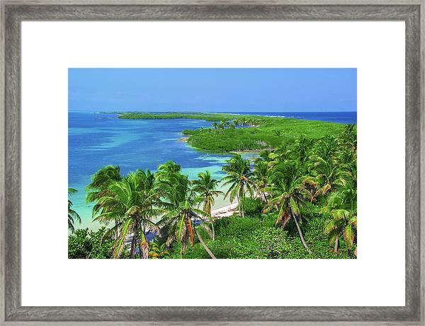 Isla Contoy Framed Print
