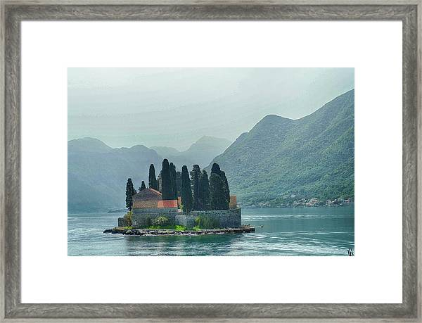 Island Church Of St George Framed Print