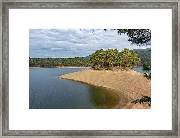 Island Of Trees Framed Print