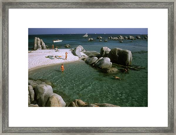 Island Paradise Framed Print by Slim Aarons