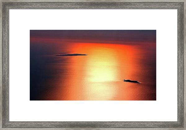 Islands Framed Print
