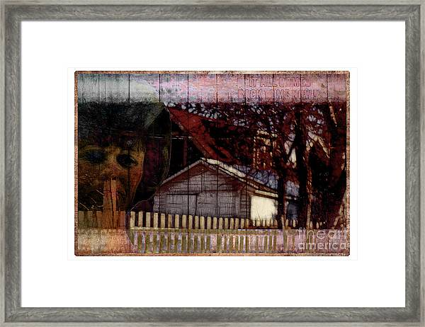 It All Comes Back To Me Now Framed Print by John Groves