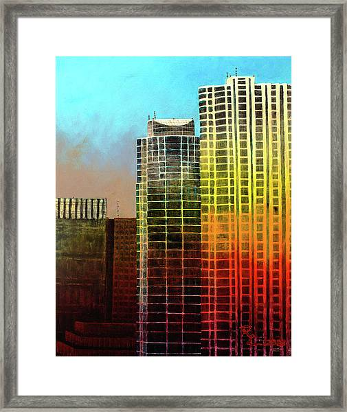 It Takes A Rainbow Framed Print