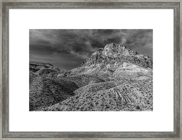 It Took Me By Surprise, I Must Say Framed Print