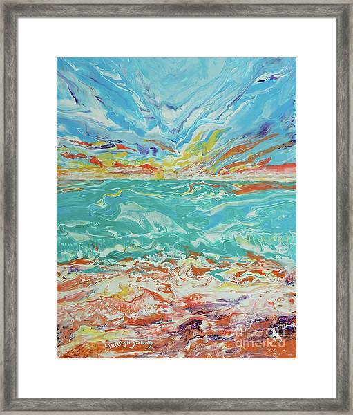 It's A Beach Day Framed Print