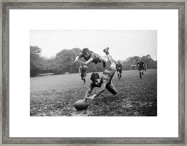 Its A Try Framed Print