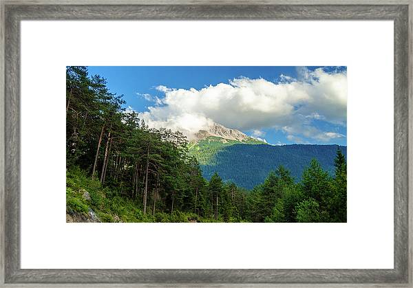 It's Cloudy Up In Here Framed Print
