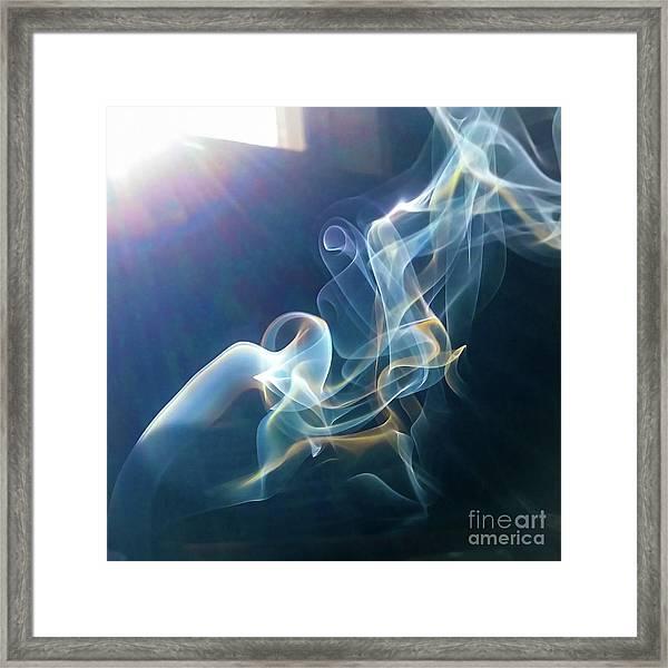 Framed Print featuring the photograph Jackel by Atousa Raissyan