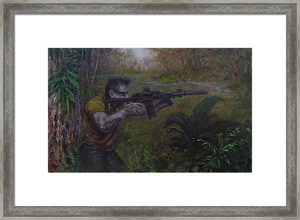 Jackson Framed Print