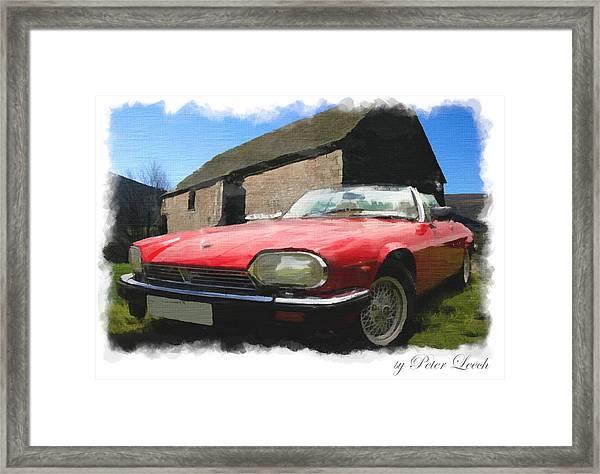 Jaguar Xjs - 1 Framed Print