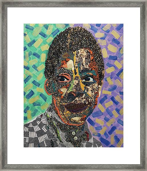 James Baldwin The Fire Next Time Framed Print