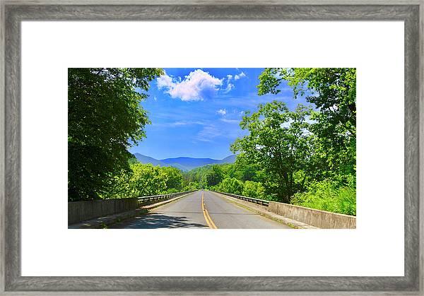 James River Bridge, Blue Ridge Parkway, Va. Framed Print