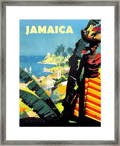 Jamiaica Framed Print