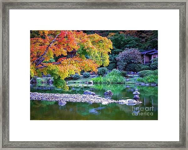 Japanese Garden Framed Print