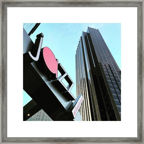 Jazz At Lincoln Center Framed Print