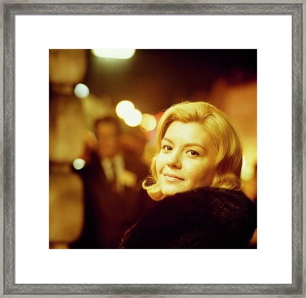 Jazz Singer Helen Merrill Framed Print by David Redfern