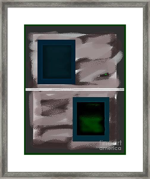 Jealousy Framed Print