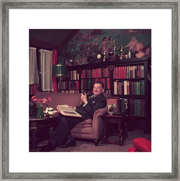 Jean Hersholt Framed Print