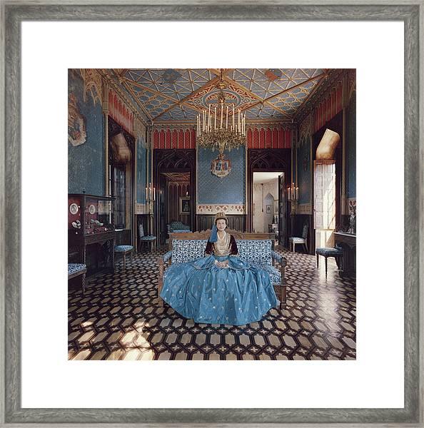 Jean Serpieri Framed Print by Slim Aarons