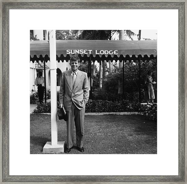 Jfk In Jamaica Framed Print