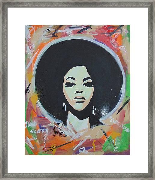 Jill So Beautiful Framed Print