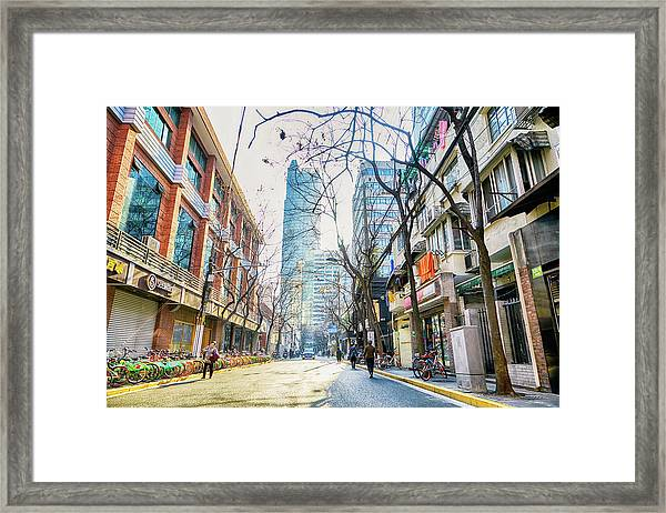 Jing An Framed Print