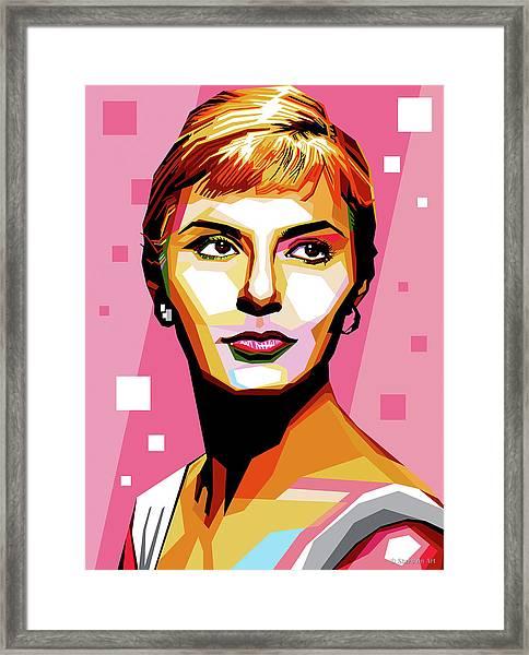 Joanne Woodward Framed Print